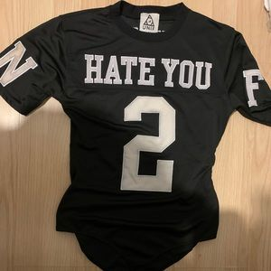 """UNIF """"Hate You 2"""" Jersey Bodysuit"""